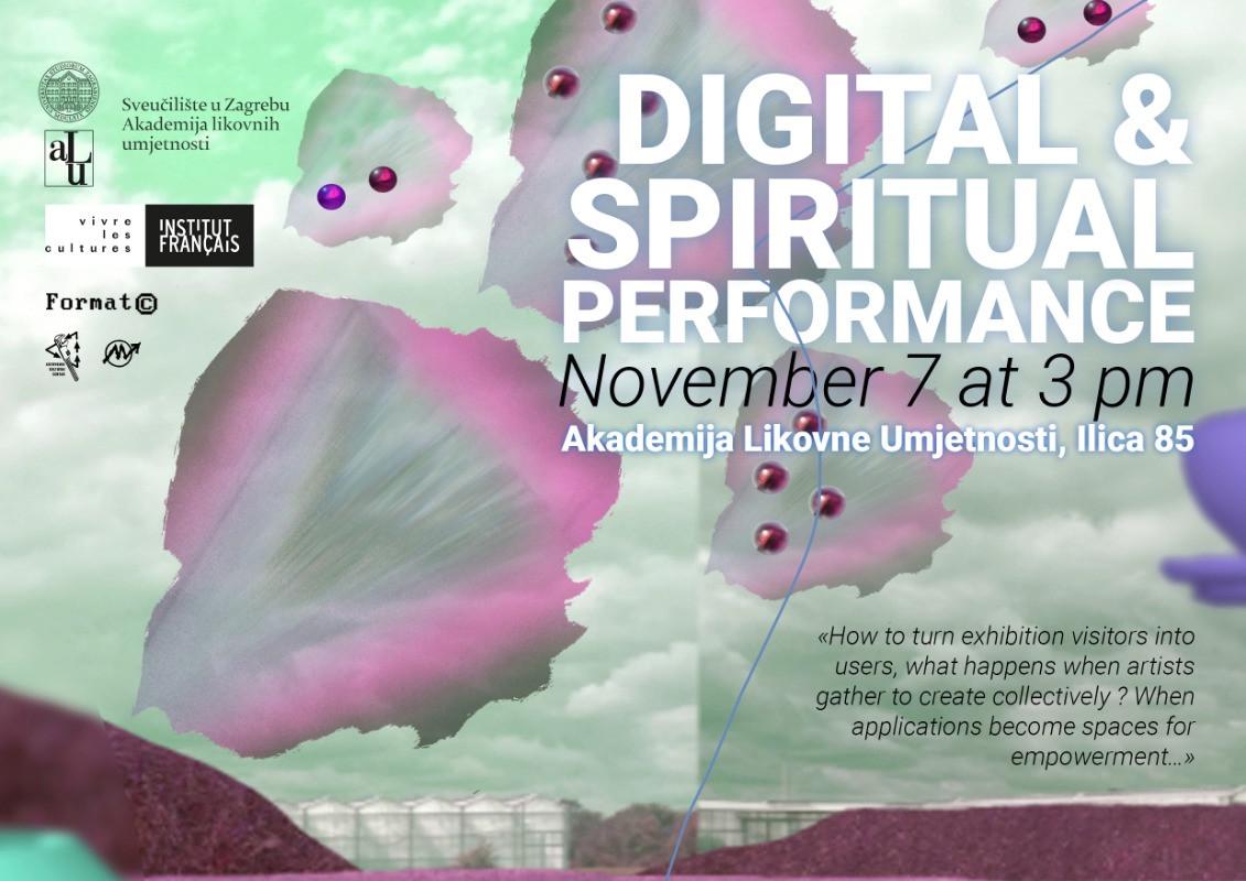 Digital Spirituality poster by Nani$ôka Groupe